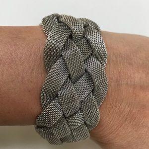 Jewelry - Silver woven bracelet